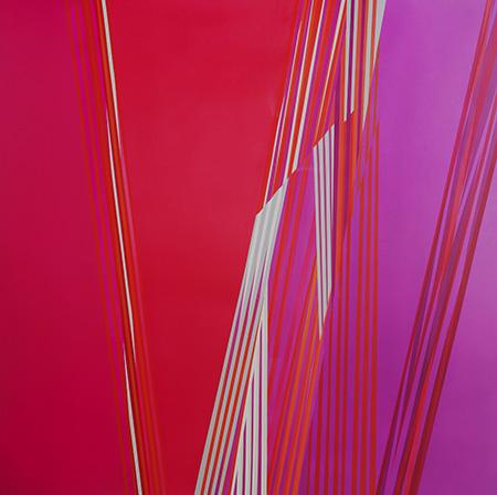 ENTRELAZADOS XXII 180x180 cm Acrilico 2016