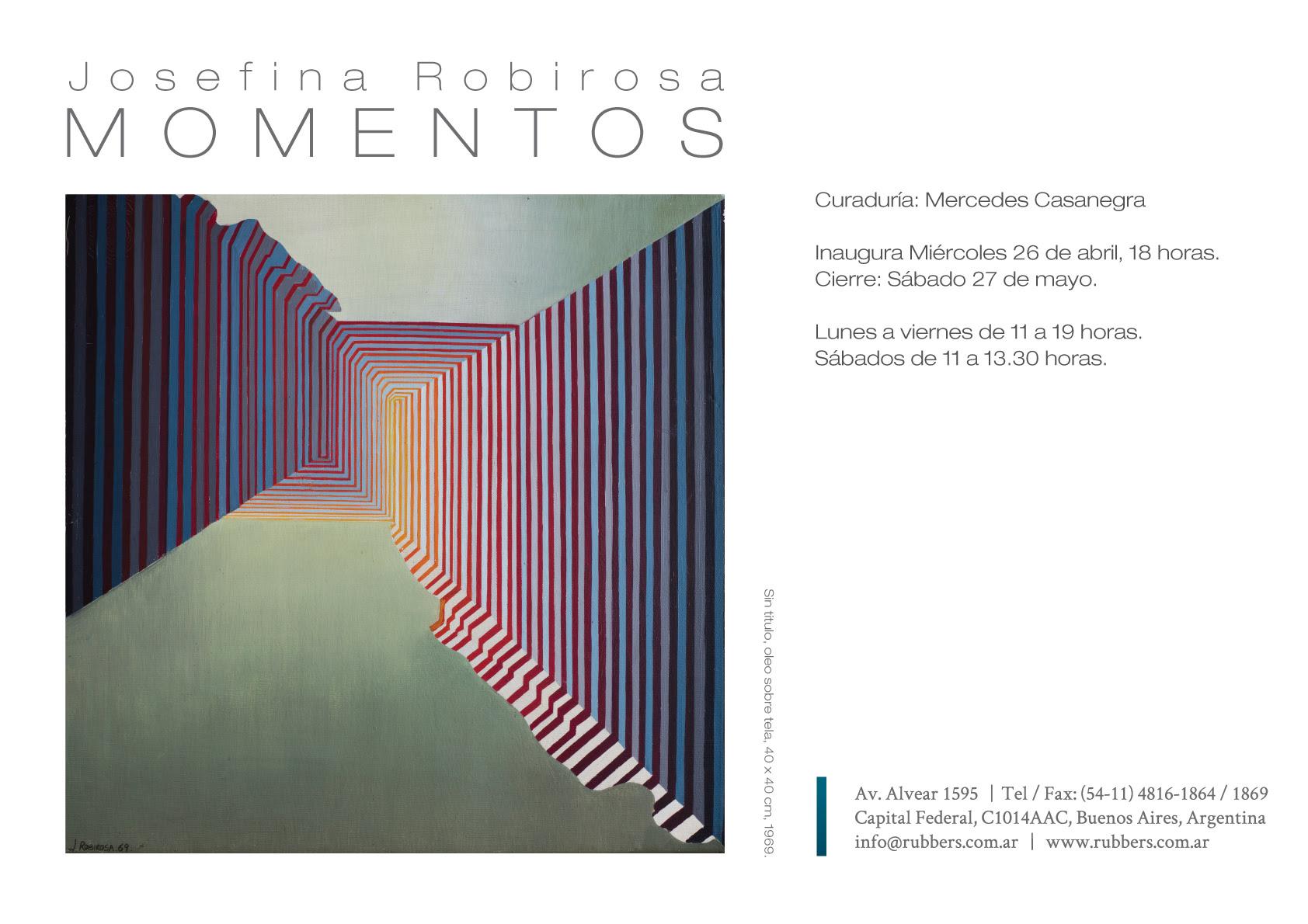 Exposición Josefina Robirosa Momentos