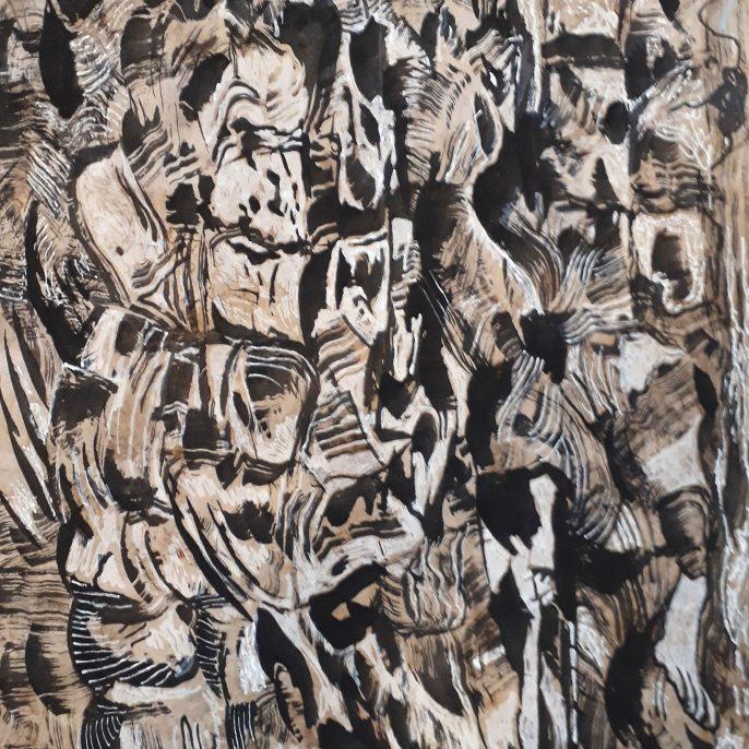 J.Pietra pastel,tinta s.papel 0.50x0.50 2016