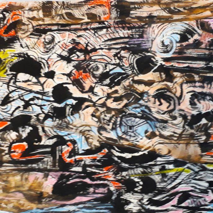 J.Pietra tinta y pastel s.papel 0.40x 0.50 2016