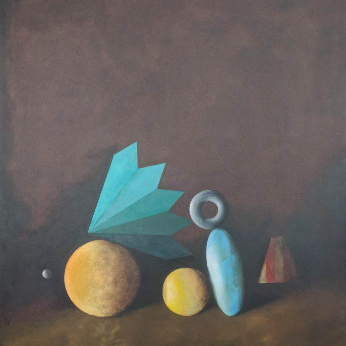 Jorge Diciervo - Dos Soles Tibios - 100x090 - 2015 - Acrilico s tela - v2-01