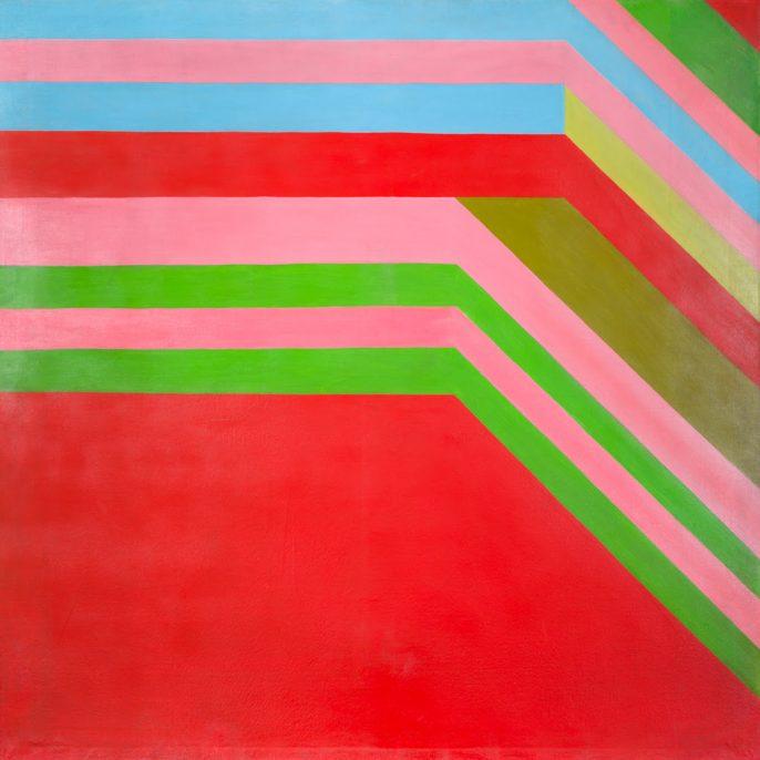 ENERO - oleo y esmalte sobre tela - 140 x 140 cm -1965