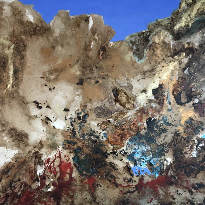Terra Incógnita XV- 1.25 x 1.50 - tecnica mixta s tela- 2017 (3)